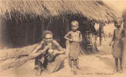 CONGO BELGE - Ethnic HN / Le Fumeur Dolce Far-niente - Belgisch-Kongo - Sonstige