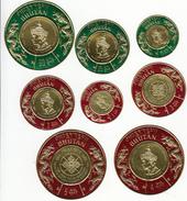 BHUTAN 1975 Stamp Set The 20th Anniversary Of The Birth Of King Jigme Singye Wangchuck  MNH - Bhutan