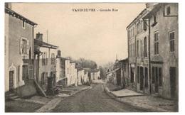 54 MEURTHE ET MOSELLE - VANDOEUVRE Grande-Rue (voir Descriptif) - Vandoeuvre Les Nancy