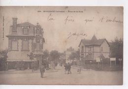 Cpa.14.Houlgate.Place De La Gare.1903.animé Personnages - Houlgate