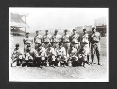 SPORTS - BASEBALL - THE NEW YORK BLACK YANKEES 1934 - 6½ X 4¾ Po - 16½ X 12 Cm - PHOTO JAMES VAN DER ZEE - Baseball