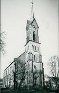 Echtfoto Kirkel, Kirche, Ca. 1950er Jahre (17015) - Saarpfalz-Kreis