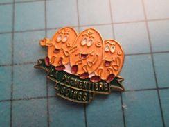 Sp06 Pin's Pins / PATATE POMME DE TERRE LA PARMENTIERE SOINGS RESTAURANT ? ;  Belle Qualité !!!   Marquage Au Dos : --- - Food