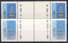 #Åland 1985-90. Folklore. Gutterpair. Michel 10x + 10y. MNH(**) - Aland