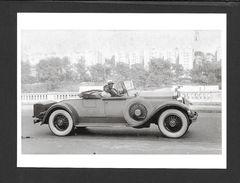 COUPLES - SUNDAY DRIVE C.1932 - NICE CAR - 6½ X 4¾ Po - 16½ X 12 Cm - PHOTO JAMES VAN DER ZEE - Couples