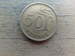 Finlande  50  Pennia  1963  Km 48 - Finlande