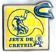 J17 - JUDOKAS-JEUX DE CRETEIL - Verso : SM - Judo