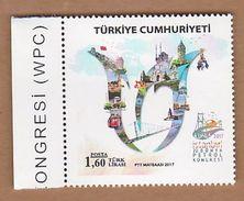 AC - TURKEY STAMP - 22nd WORLD PETROLEUM CONGRESS WPC 2017 MNH 09 JULY 2017 - Nuevos