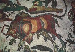 Piazza Armerina - Ambulacro Of The Great Hunting-Capture Of The Bison.  Italy.   # 06911 - Unclassified