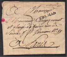 COLMAR - STEINBACH - ALSACE  / 1822 LAC POUR PARIS (ref 7175) - Alsace-Lorraine