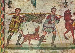 Piazza Armerina - Chambre Of The Smaller Hunting - Detail.    Italy.   # 06913 - Unclassified