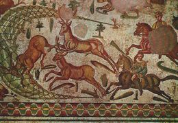 Piazza Armerina - Chambre Of The Smaller Hunting - Hunting At Horse Of Stags.    Italy.   # 06914 - Unclassified