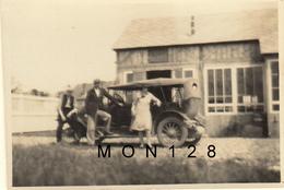 VOITURE AUTOMOBILE ANCIENNE - PHOTO ORIGINALE 8x5,5 Cms - Automobili