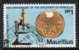 MAURITIUS  Scott # 466 VF USED - Mauritius (1968-...)