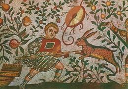 Piazza Armerina - Bedroom Of The Childs Hunters - Hare - Hunting.   Italy.   # 06919 - Unclassified