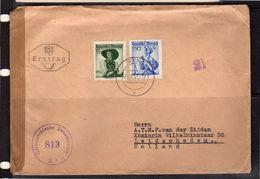 FDC!! 1957 CENSOR > Leidschendam Holland (o200) - FDC