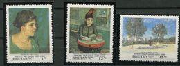 Boutan ** N° 1011 à 1013 - Peinture De Van Gogh - Bhutan
