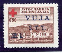 TRIESTE ZONE B 1948 Red Cross  Postal Tax Stamp MNH / **.  Michel 1 - 7. Trieste