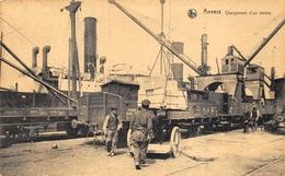 Anvers Antwerpen     Chargement D'un Navire    Trein Boot Schip Haven         A 7289 - Antwerpen