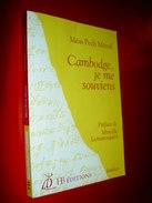 Cambodge , Je Me Souviens  Méas Pech Métral 2003  Khmers Rouges  . Pol Pot . Témoignage - Geschichte