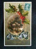 Fête De Noël - Joyeux Noël (gaufrée) - Noël
