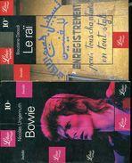 Lot 3 Librio Theme La Musique Bowie & Beatles & Le Rai - Livres, BD, Revues