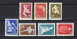 Hungary 1958 Olympics MNH - Olympic Games