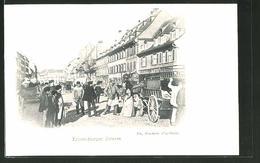 CPA Strassburg, Partie In Der Kronenburger Strasse - Non Classés