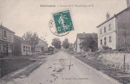 52 CHALINDREY  Maisons Commerces QUINCAILLERIE PARISIENNE Avenue De La République Vue N° 3  Timbre 1910 - Chalindrey