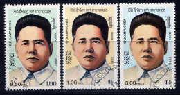 KAMPUCHEA - 603A/603C° - SON GNOC MINH - Kampuchea