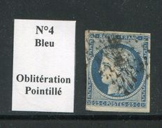 FRANCE- Y&T N°4- Oblitéré - 1849-1850 Cérès