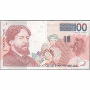 TWN - BELGIUM 147b - 100 Francs 1995-01 10406399XXX - Signatures: Masai & Quaden UNC - Belgio