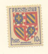 834 -Armoiries De Provinces -Bourgogne  (1949) - Unused Stamps
