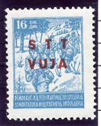 TRIESTE ZONE B 1949 Partisan Definitive 16 D. MNH / **,  Michel  20a - 7. Trieste