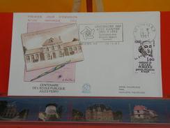 Coté 1,80€ - École Publique Jules Ferry - 26.9.1981 - 80 Amiens - FDC 1er Jour & Flamme - FDC