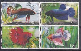 TAILANDIA 2002 Nº 2014/17 USADO - Tailandia