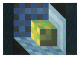 GF 003, Arts Plastiques Plasticien Victor Vasarely, Edition Du Griffon EG 1021, Tridim-C 1968 - Arts