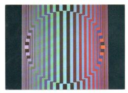 GF 005, Arts Plastiques Plasticien Victor Vasarely, Edition Du Griffon EG 1023, Boygo-II 1969 - Arts