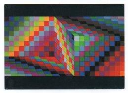 GF 006, Arts Plastiques Plasticien Victor Vasarely, Edition Du Griffon EG 1025, Axo-77 1969 - Arts