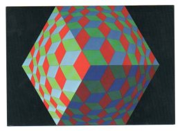 GF 007, Arts Plastiques Plasticien Victor Vasarely, Edition Du Griffon EG 1027, Hat-Vi 1971 - Arts
