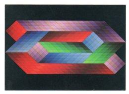GF 008, Arts Plastiques Plasticien Victor Vasarely, Edition Du Griffon EG 1028, Torony 1970 - Arts