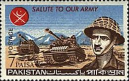 PAKISTAN MNH** STAMPS, 1965 Pakistan Armed Forces - Pakistan