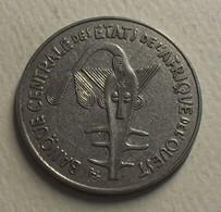 1987 - Afrique De L'Ouest - West African States - 100 FRANCS, BCEAO, KM 4 - Monnaies