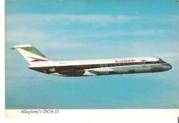 Jet Allegheny Sleek 100 Passenger DC-9-31 Fanjet - 1946-....: Moderne
