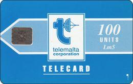 Malta Phonecard   Telemalta Corporation 100 U - Malta
