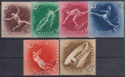 HUNGRIA 1952 Nº 1046/49 + A130/31 USADO - Hungría