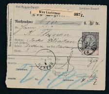 Österreich-GS Wien  - Netter  Beleg  .( T3991 ) Siehe Scan - Ganzsachen