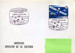 23676 Spain, Special Postmark 1990 Huelva,  Columbus , Coulomb, Colon, - Cristoforo Colombo