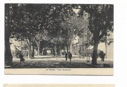 LA SPEZIA - VIALE GARIBALDI 1926 VIAGGIATA FP - La Spezia