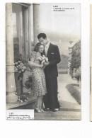 LUI E LEI FOTOCELERE RETRO DEDICA 1940 NV FP - Couples